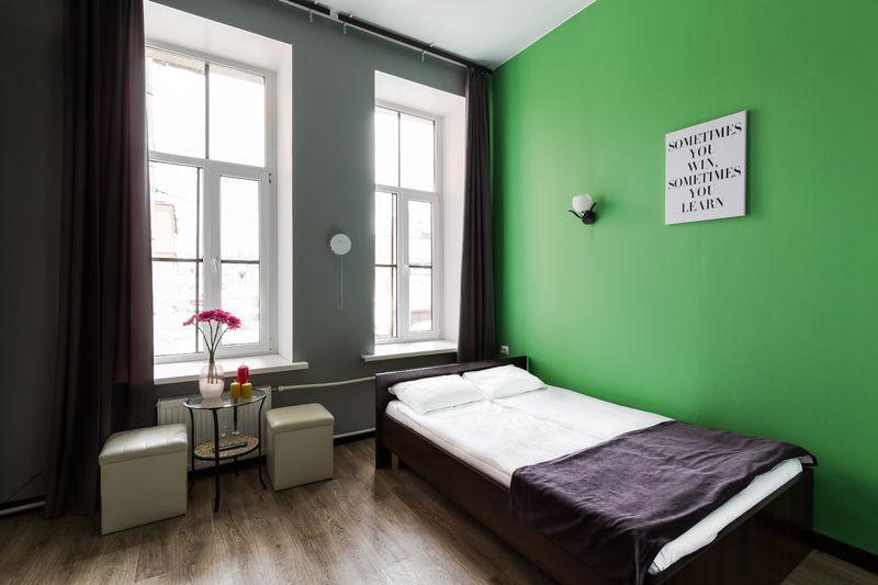 Отель Номера на Садовой, категория 2-местный с 1 кроватью и собственной ванной комнатой