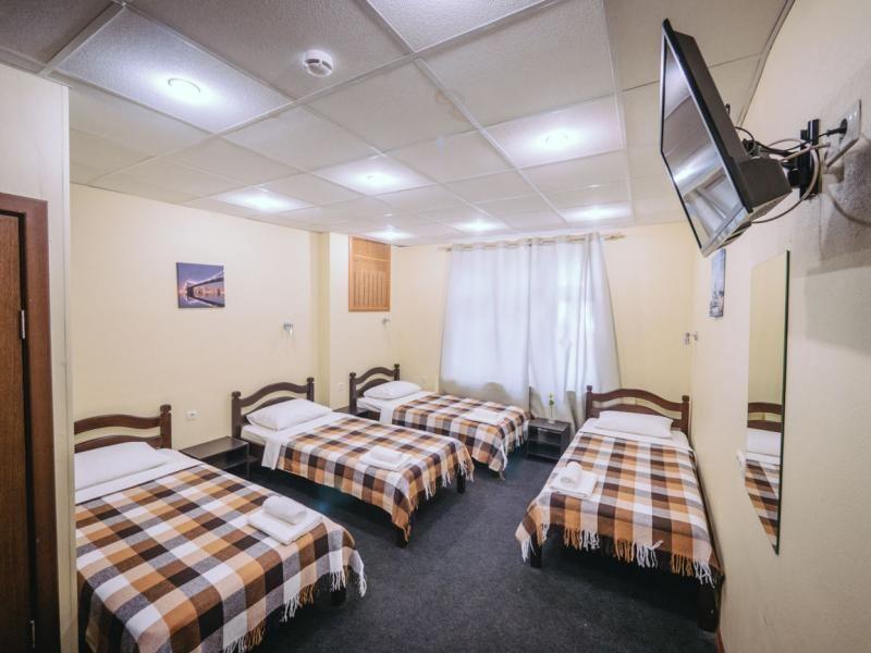 Отель Мини-отель Каширский, категория койко-место в стандартном 4-х местном номере
