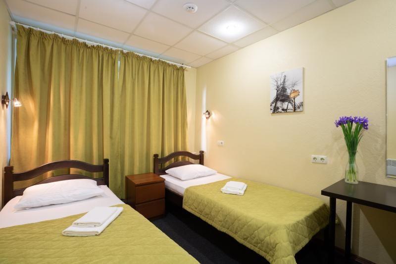 Отель Гостеприимный дом Ботанический, категория 2-местный стандарт Две раздельных кровати