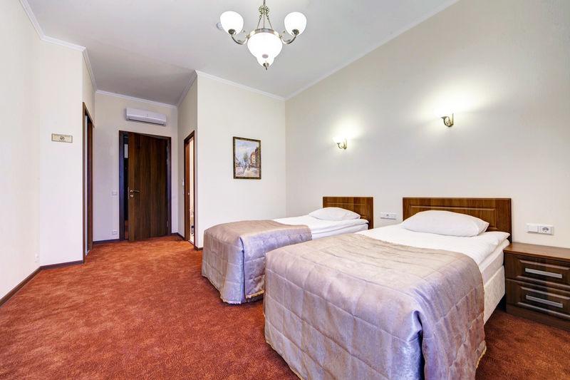 Отель Соло на Большой Московской, категория номер Комфортабельный с двумя кроватями