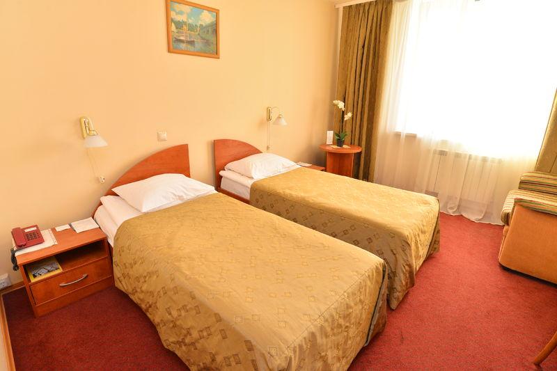 Отель Евротель Центральный, категория стандарт + твин