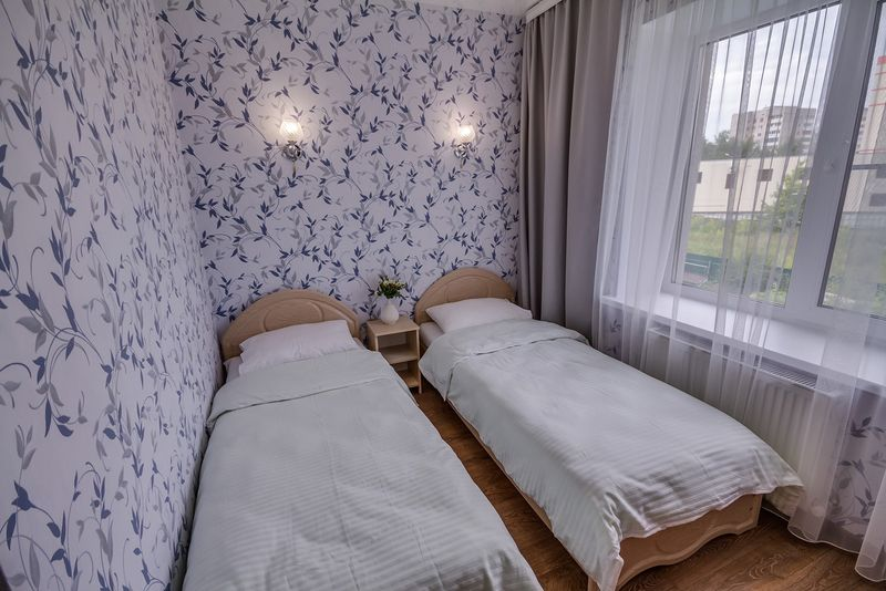 Отель Аква лайф, категория номер 2-х местный с раздельными кроватями