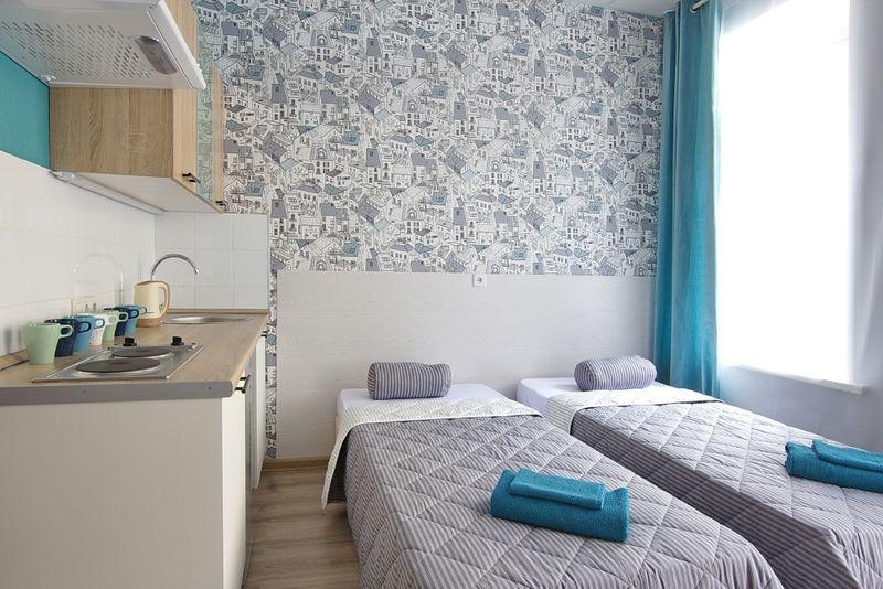 Отель Вариант N17, категория студио (dbl или twin)