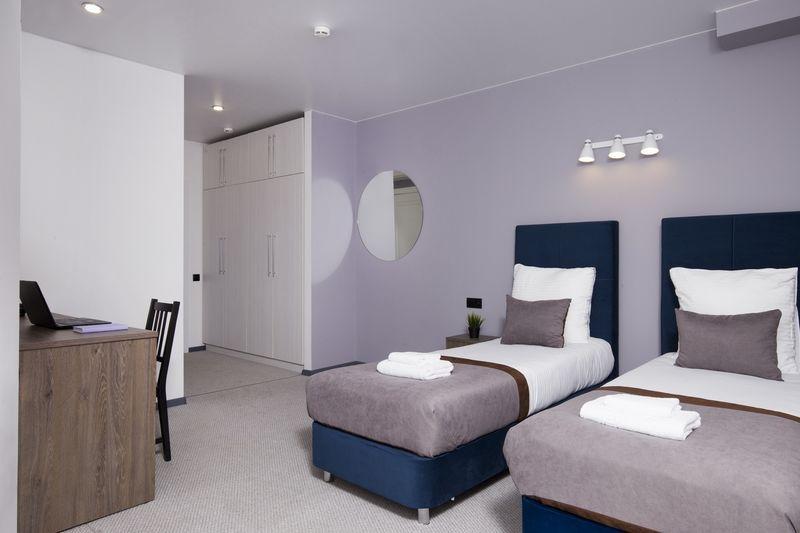Отель ВАУ Эрмитаж, категория номер Комфортабельный twin