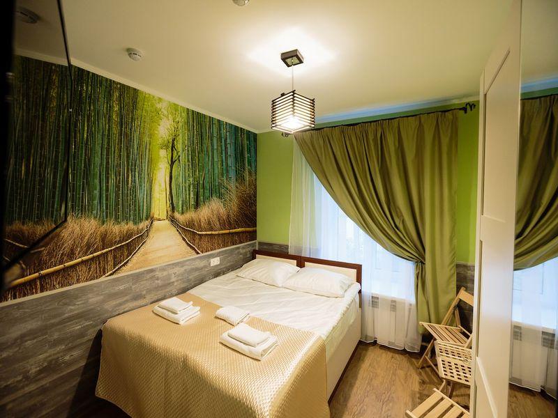 Отель Усадьба на Елизарова, категория комфорт с двумя отдельными кроватями или одной кроватью