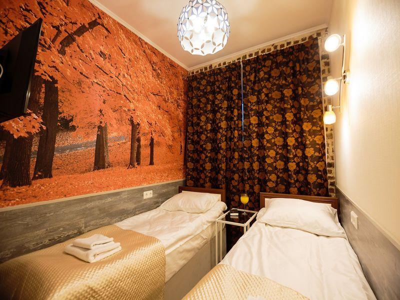 Отель Усадьба на Елизарова, категория стандарт с двумя отдельными кроватями или одной кроватью
