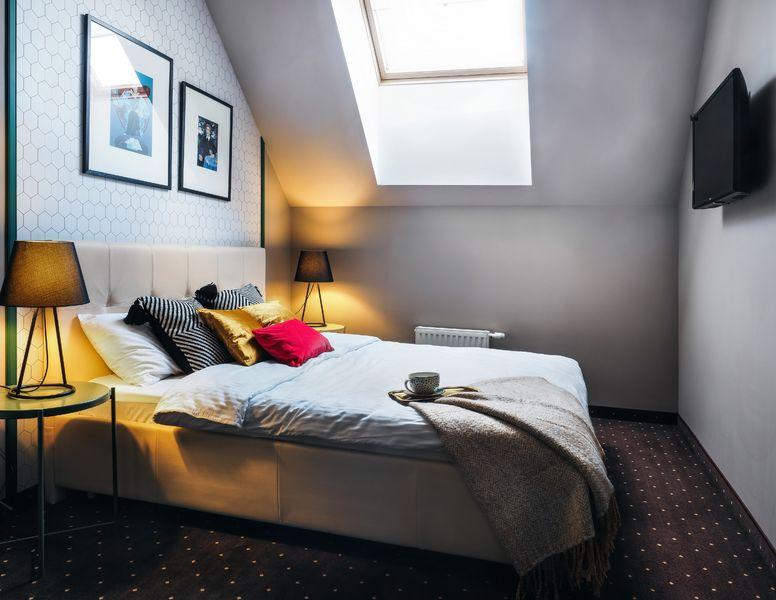 Отель Нетизен, категория стандартный двухместный номер