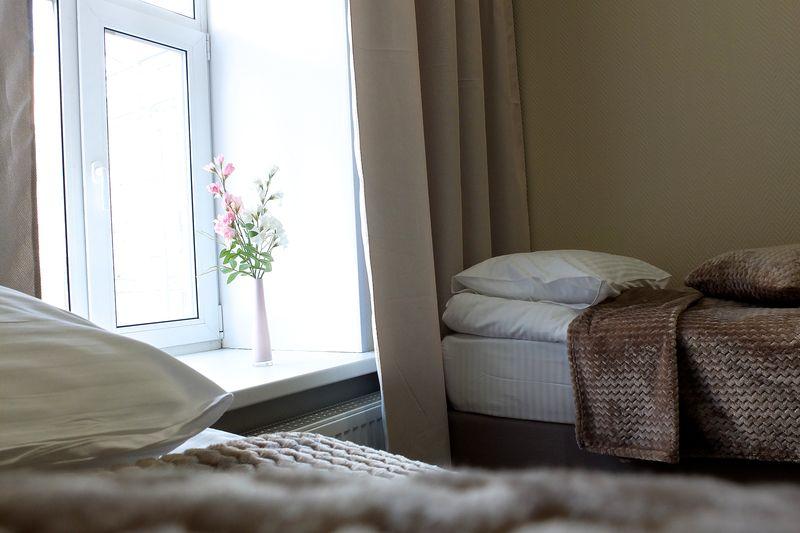 Отель Лигохотел, категория стандарт  2-местный с двумя раздельными кроватями