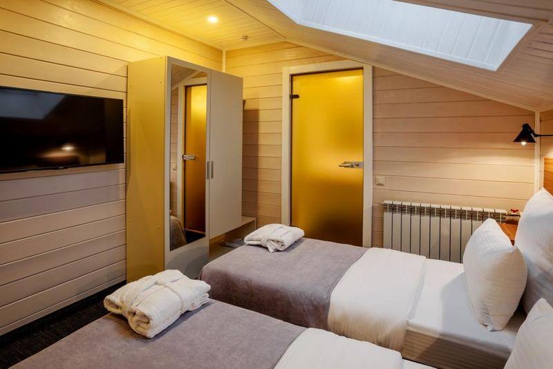 Отель ВудЛофт, категория 2-местный с 2 раздельными кроватями