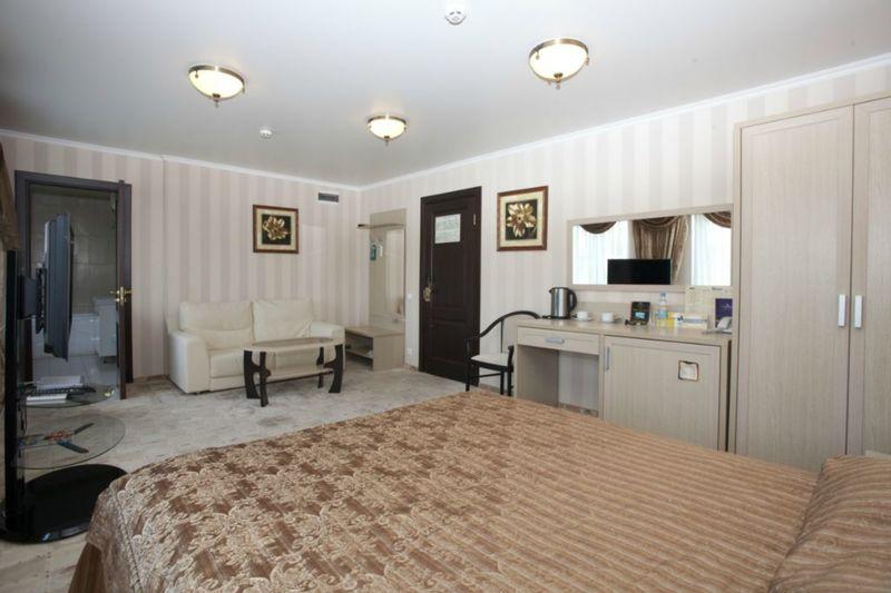Отель СеверСити, категория люкс 1 комнатный