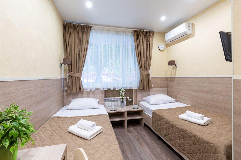 Отель Мини-отель Покровский, категория 2-местный стандарт Две раздельных кровати