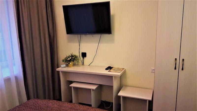 Отель Голландия, категория стандартный номер с широкой кроватью