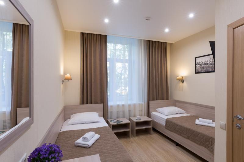 Отель Мини-отель Академик, категория 2-местный стандарт Две раздельных кровати