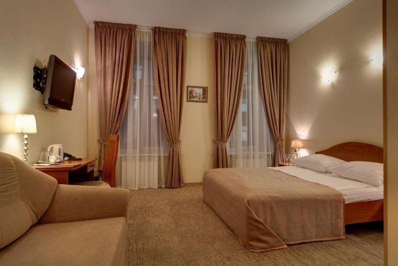 Отель Соло на Большом проспекте, категория комната улучшенная с одной или двумя кроватями