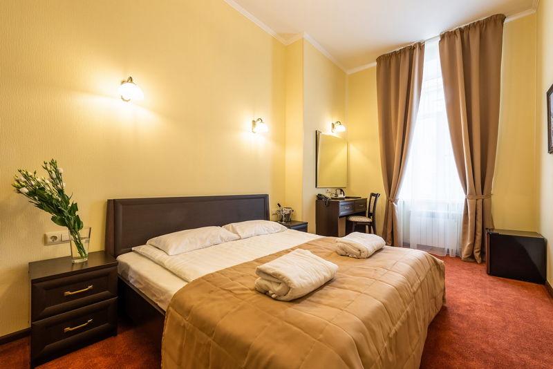 Отель Соло на Большом проспекте, категория комната комфортная с одной кроватью