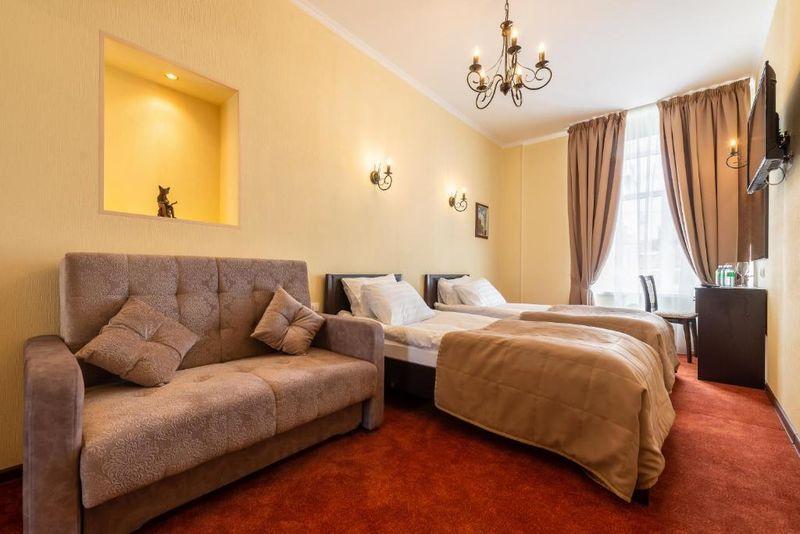Отель Соло Панорама Дворцовая площадь, категория 2-комнатные апартаменты