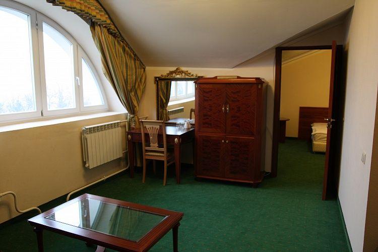 Отель Отель Парк Крестовский, категория семейный мансарда