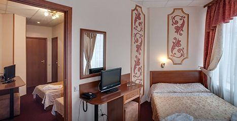 Отель Альянс отель Видное, категория стандартный 4-местный
