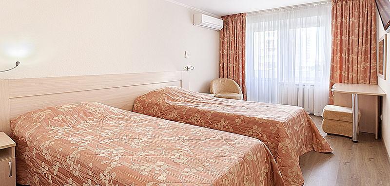 Отель Москва, категория стандарт двухместный номер