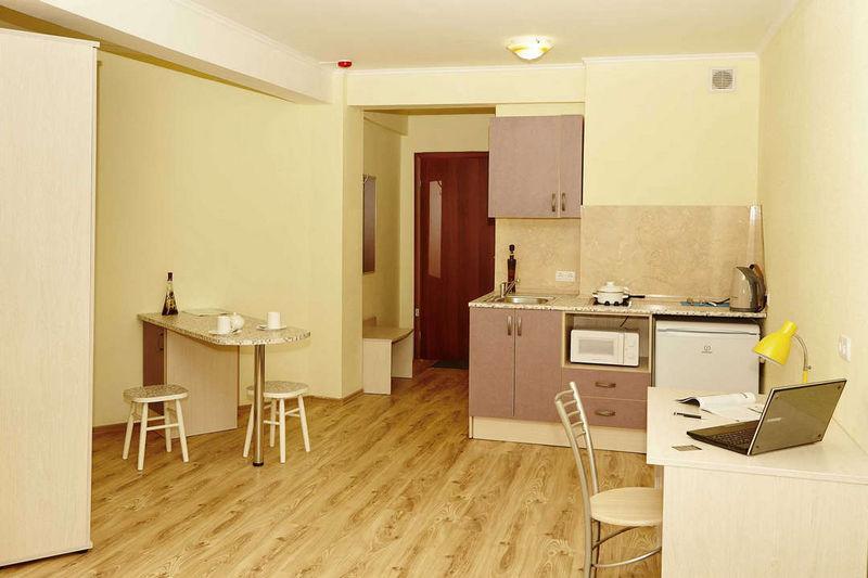Отель Старгород, категория улучшенный 1-комнатный (30 кв.м.) DBL
