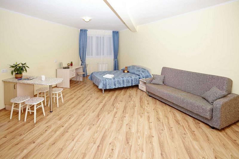 Отель Старгород, категория студия 1-комнатный  DBL + диван