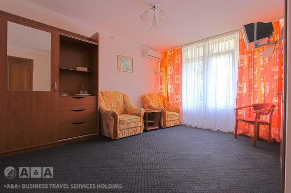 Отель Восход, категория 2-комнатный двухместный 1 категория
