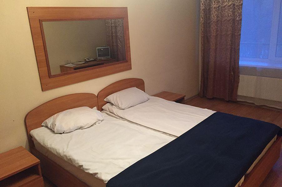 Отель Рослеспром, категория стандарт  2-местный в блоке (Общие удобства)