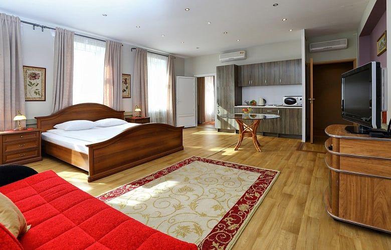 Отель Елисеефф Арбат Отель, категория апартаменты с балконом