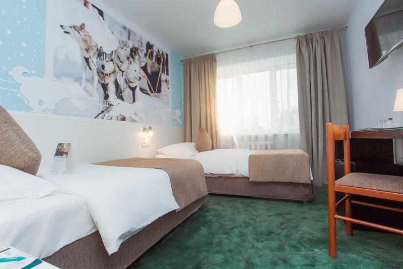 Отель Восток, категория 2-местный стандарт с раздельными кроватями